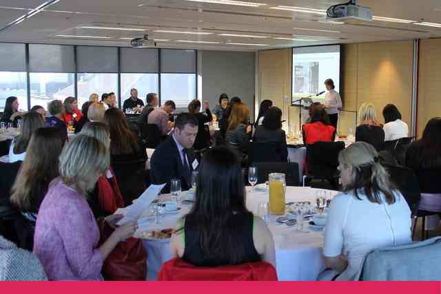 Stella Network Networking Breakfast Image Gallery